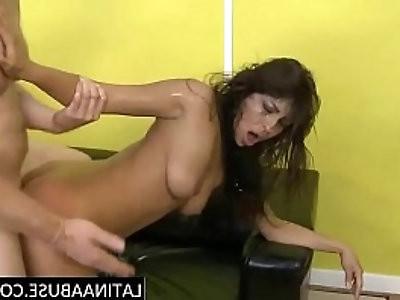 Cute Pornstar Laurie Vargas roughed