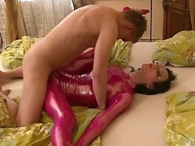 spandex sex with real flexi doll