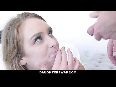 DaughterSwap Hot Teen Seduces Her Best Friends Dad