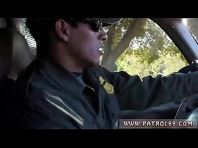 Police agent and cop gangbang jail xxx Nasty border patrool surveys