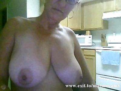 Solo of sex addicted Granny from Australia