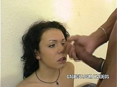 Throat Loving Teen Girl take it Deep Hard long big Cock
