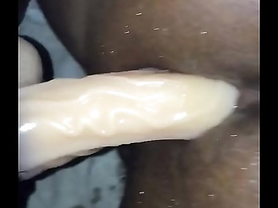Fucking my boyfriend with a strap on dildo