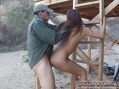 Gianna michaels cop and police trample Nasty border patrool surveys