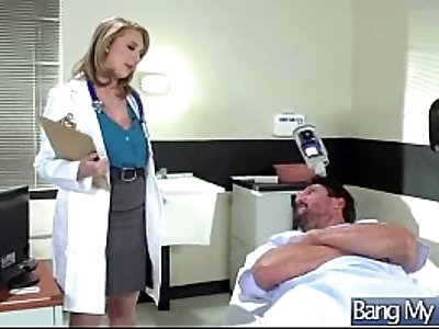 Hard Sex Tape With Dirty Doctor Bang Horny slut Patient movie