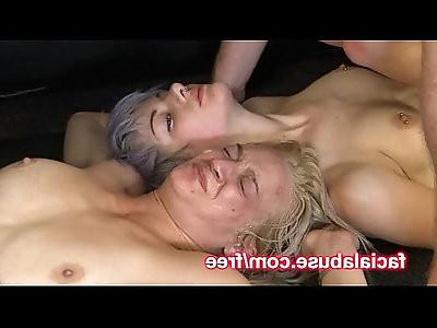 Spit Swapping Sluts Getting Slammed