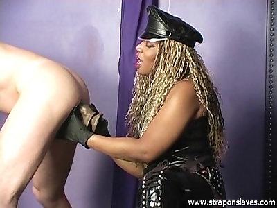 Ebony Anal Slave