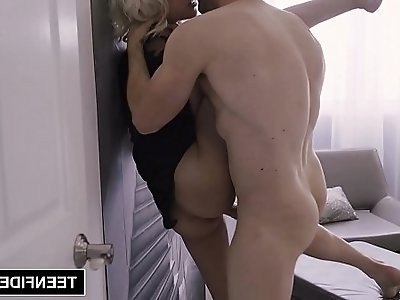 TEENFIDELITY Tiny Hime Marie Creampied After Hard Fuck