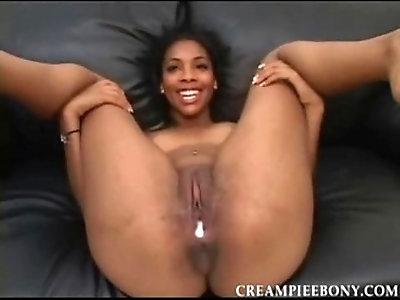 Kim Brown Creampie Ebony