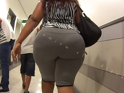 Candid Big Booty Bubble Butt Culo Brazil Thick Curvy Pawg BBW Ass Premium