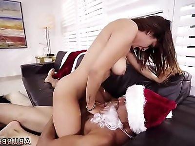 Guys fucking hardcore and big tits whipped bondage Mia Martinez Xmas