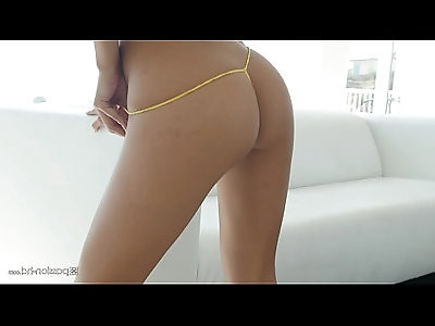 Super hot model Gianna Dior plays with her pussy and takes a huge cock, check out how hot this girl is! passionhd